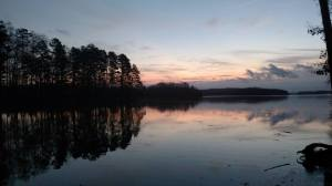 Sunrise in Tugaloo State Park (GA)