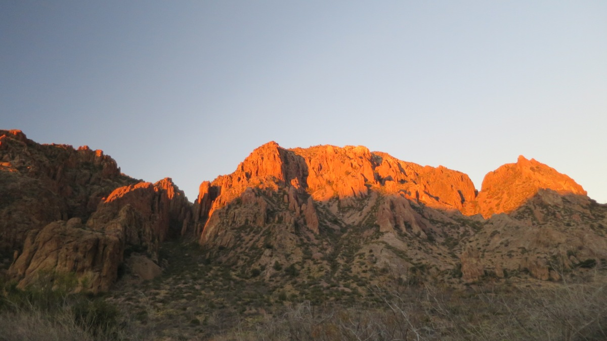 Day 11 & 12: 01/06 & 01/07/2016 – Big Bend National Park, Chisos Basin