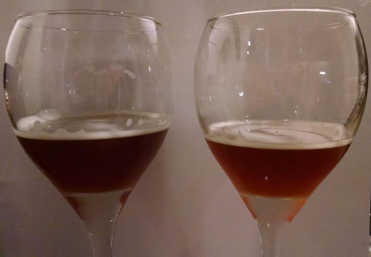 March 13, 2016: Tasting Notes (Amber Ale Two Ways)