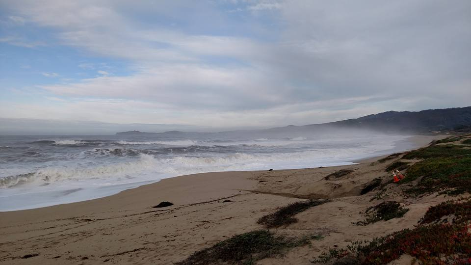 Day 24: 01/19/2016 – Half Moon Bay State Beach