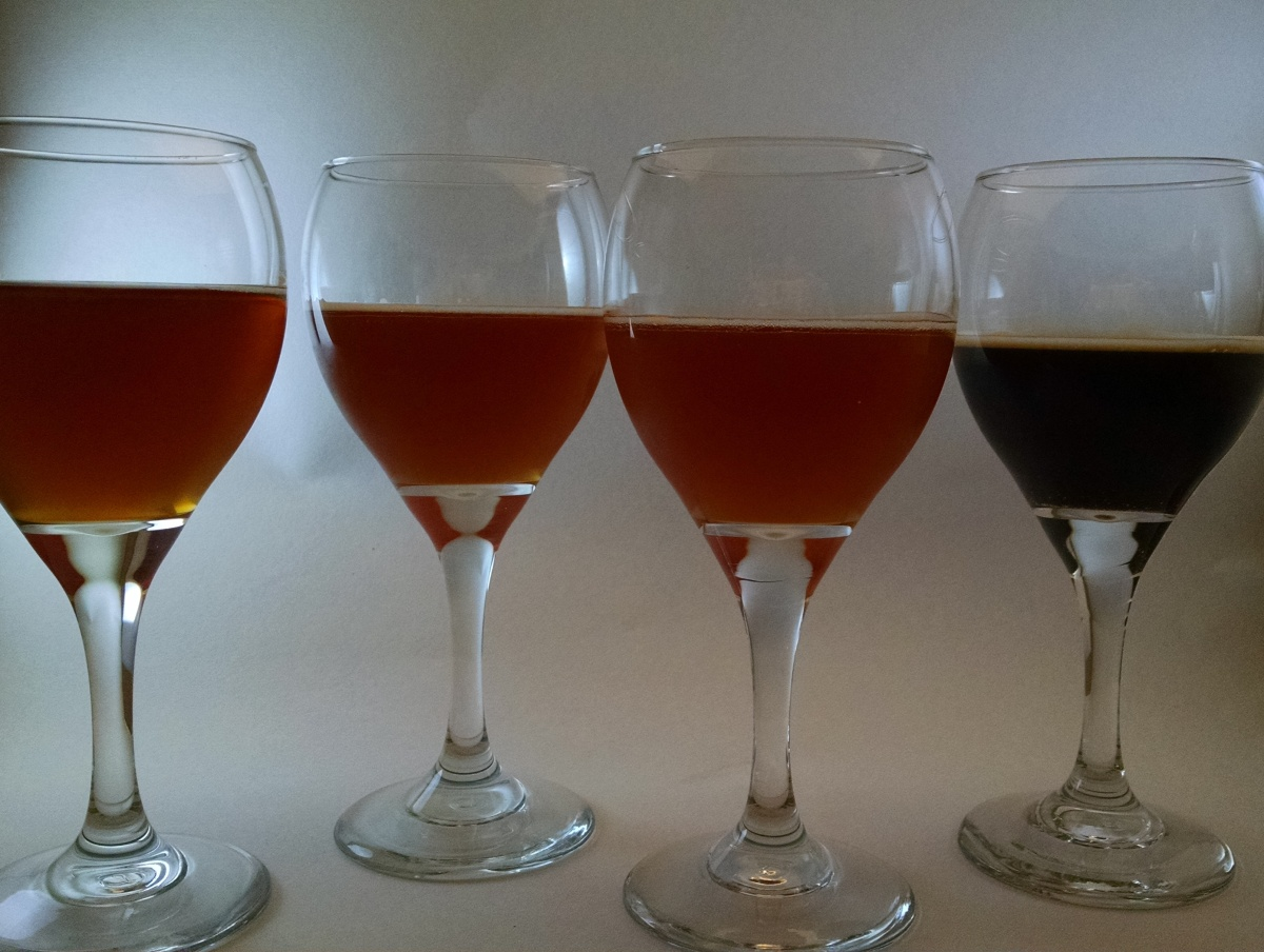 April 26, 2016: Tasting Notes – Amber Ales, Belgian Blond, and Vanilla Bourbon Imperial Porter