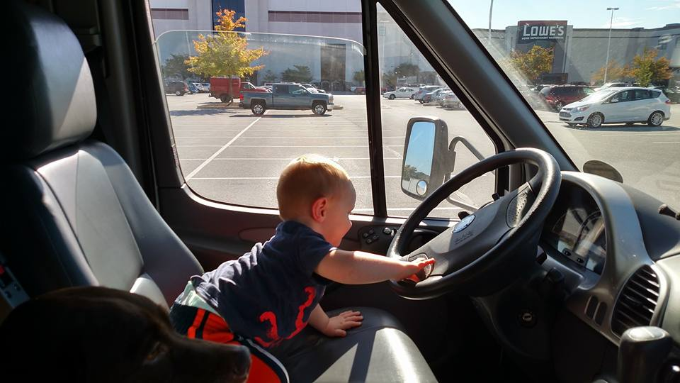 RV Travel with a Toddler