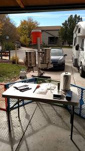Brew day set up!