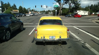 Check out the model and license plate.