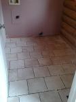 Tiles, pre grout.