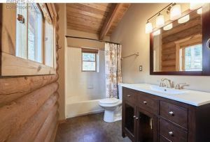 What the master bath looked like before we decided to overhaul it.
